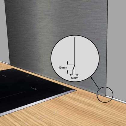 plakinox d coupe plaque inox sur mesure cr dence inox cuisine. Black Bedroom Furniture Sets. Home Design Ideas